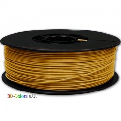 Filament PLA FilaColors Helles Gold 1kg Rolle