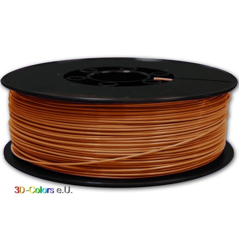 Filament PLA FilaColors braun 1kg Rolle