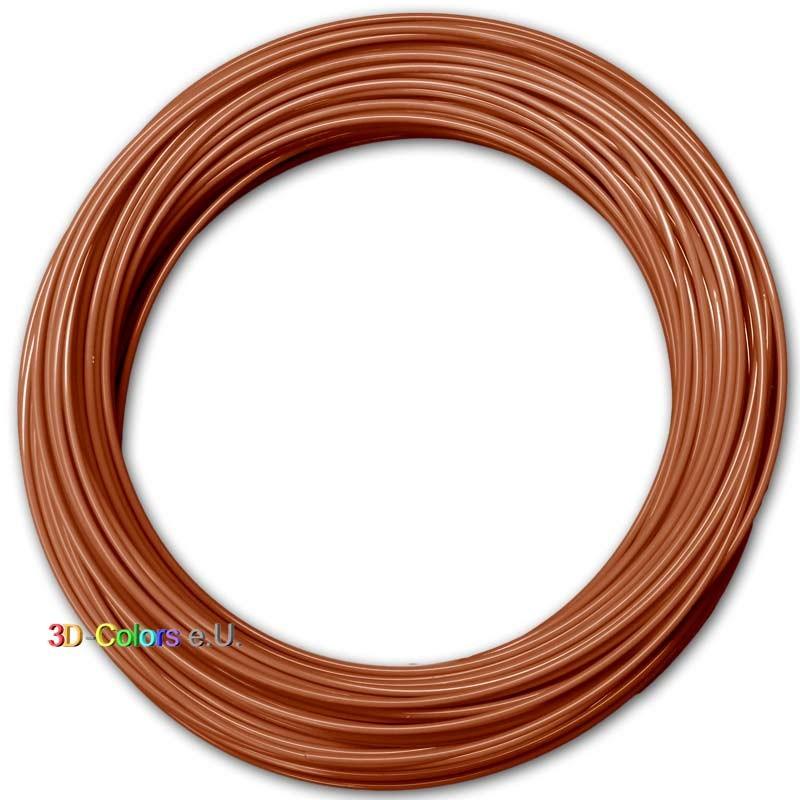 PLA Braun 100g, FilaColors Filament