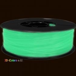 Glow-in-dark PLA Fluoreszierend 2kg Rolle, FilaColors Filament