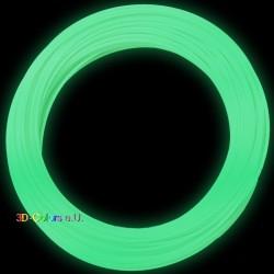 Glow-in-dark PLA Fluoreszierend 100g, FilaColors Filament