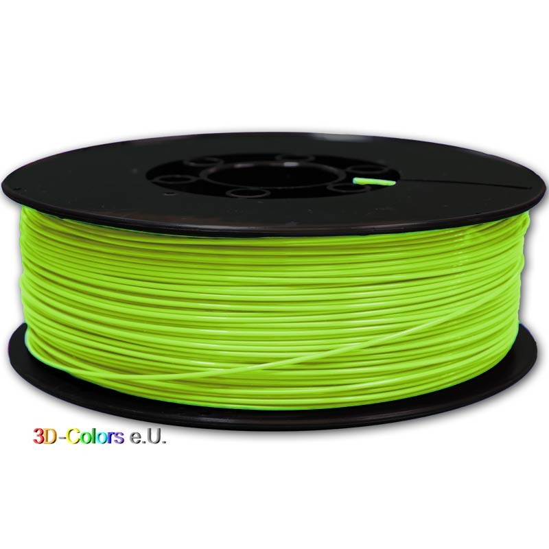 PLA Grüner Apfel Filament 1kg Rolle, FilaColors