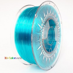 Devil Design PETG Filament blau transparent, 1 kg, 1,75 mm