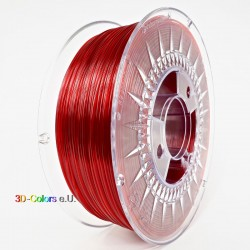 Devil Design PETG Filament Rubin rot transparent, 1 kg, 1,75 mm