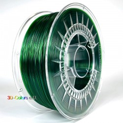 Devil Design PETG Filament grün transparent, 1 kg, 1,75 mm