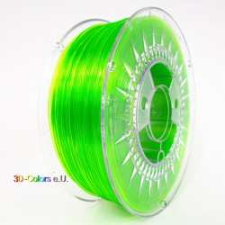 Devil Design PETG Filament hellgrün transparent, 1 kg, 1,75 mm
