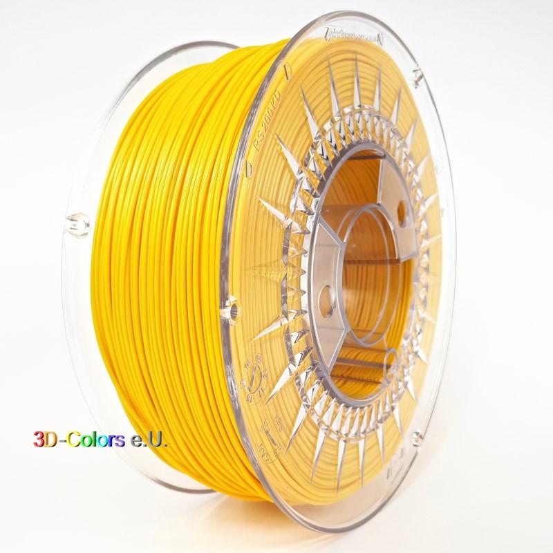 Devil Design PETG Filament gelb, 1 kg, 1,75 mm