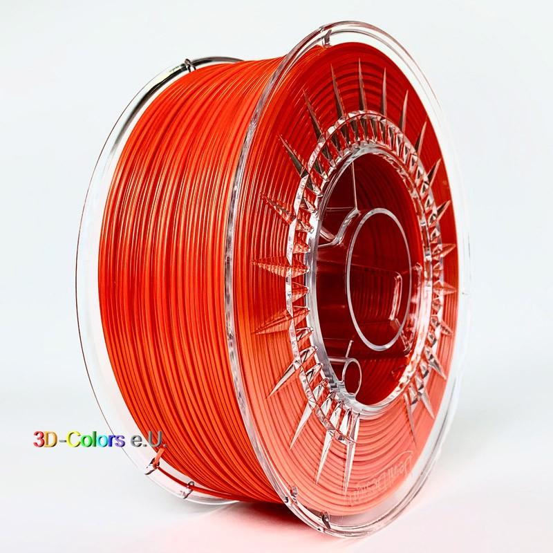 Devil Design PETG Filament dunkelorange, 1 kg, 1,75 mm