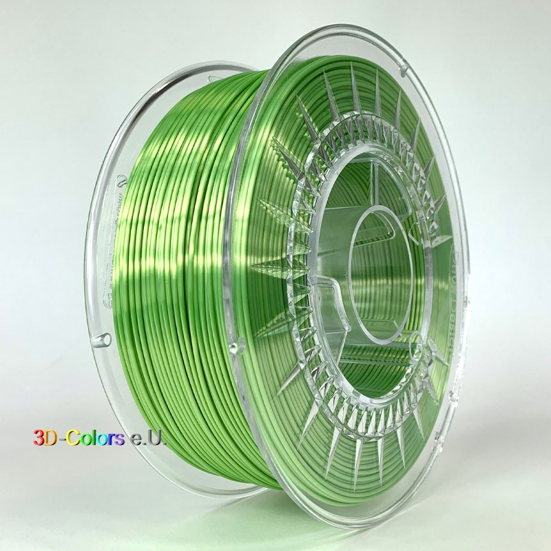 Devil Design SILK Filament hellgrün, 1 kg, 1,75 mm