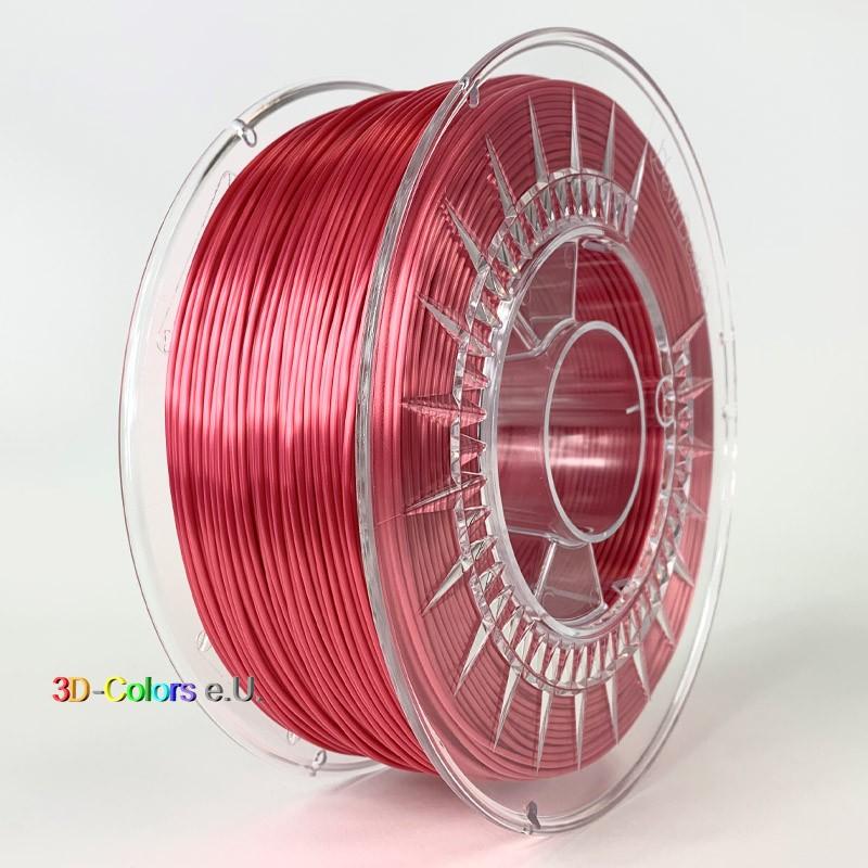 Devil Design SILK Filament rot, 1 kg, 1,75 mm