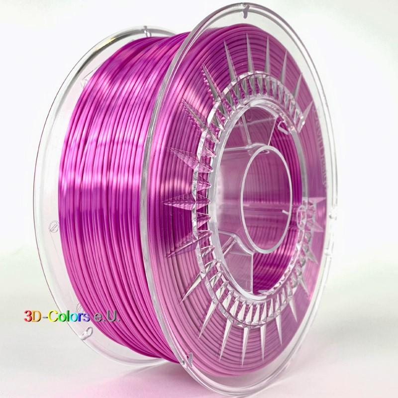 Devil Design SILK Filament pink, 1 kg, 1,75 mm