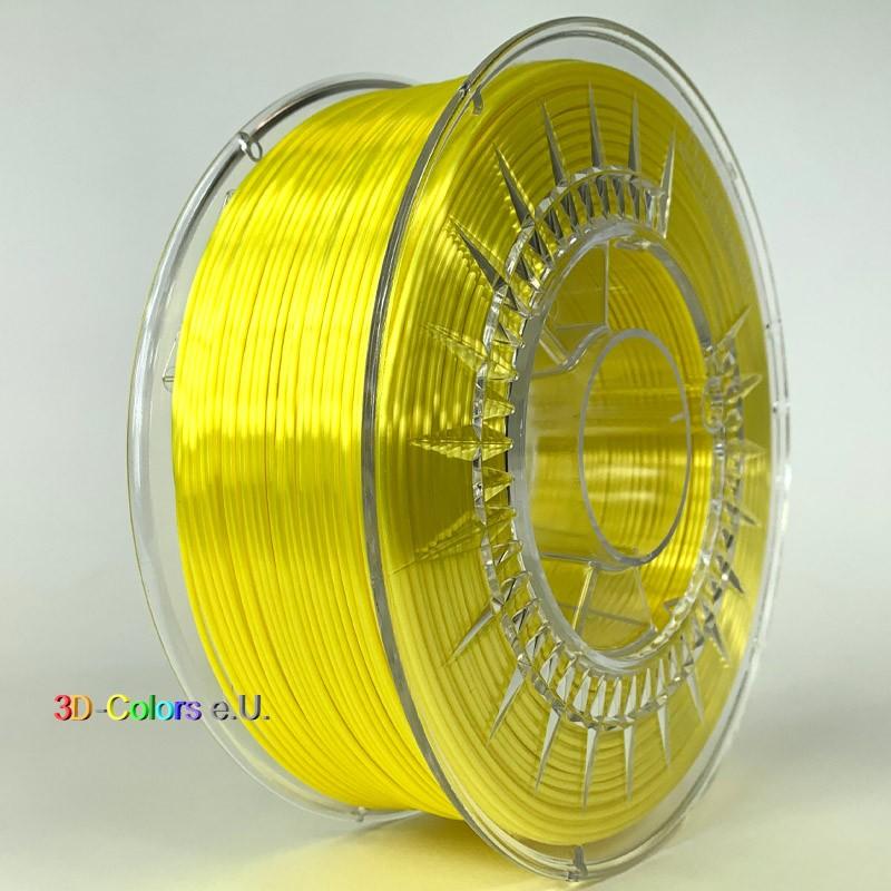 Devil Design SILK Filament gelb, 1 kg, 1,75 mm