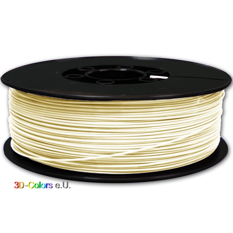 Filament PLA FilaColors Elfenbeinweiß 1kg Rolle