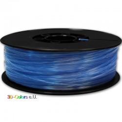 PLA Transparent Blau 1kg Rolle, FilaColors Filament