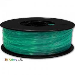 PLA Transparent Grün 1kg Rolle, FilaColors Filament