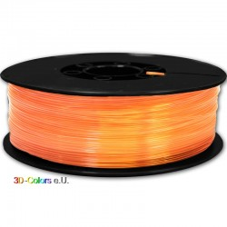PLA Transparent Orange 1kg Rolle, FilaColors Filament