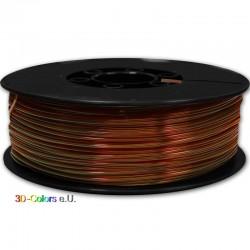PLA Opal braun 1kg Rolle, FilaColors Filament