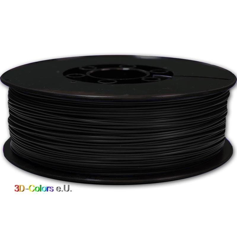 ABS schwarz 1kg Rolle, FilaColors Filament