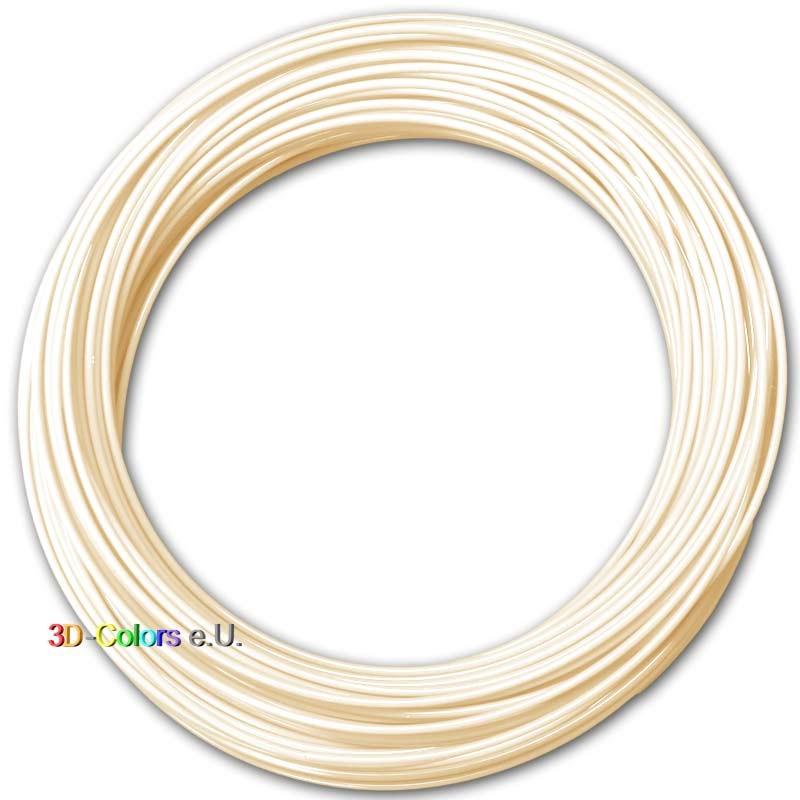 PLA Elfenbeinweiß 100g, FilaColors Filament